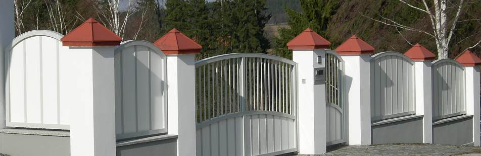 Zaun Blickdicht :: Alu-System Metallbau e.U.
